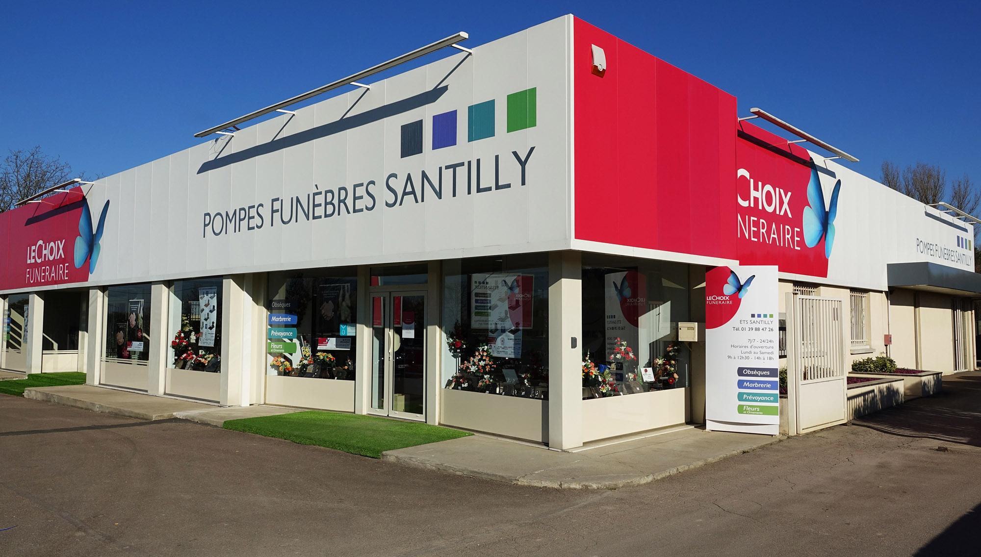 Pompes Funèbres Santilly a Goussainville