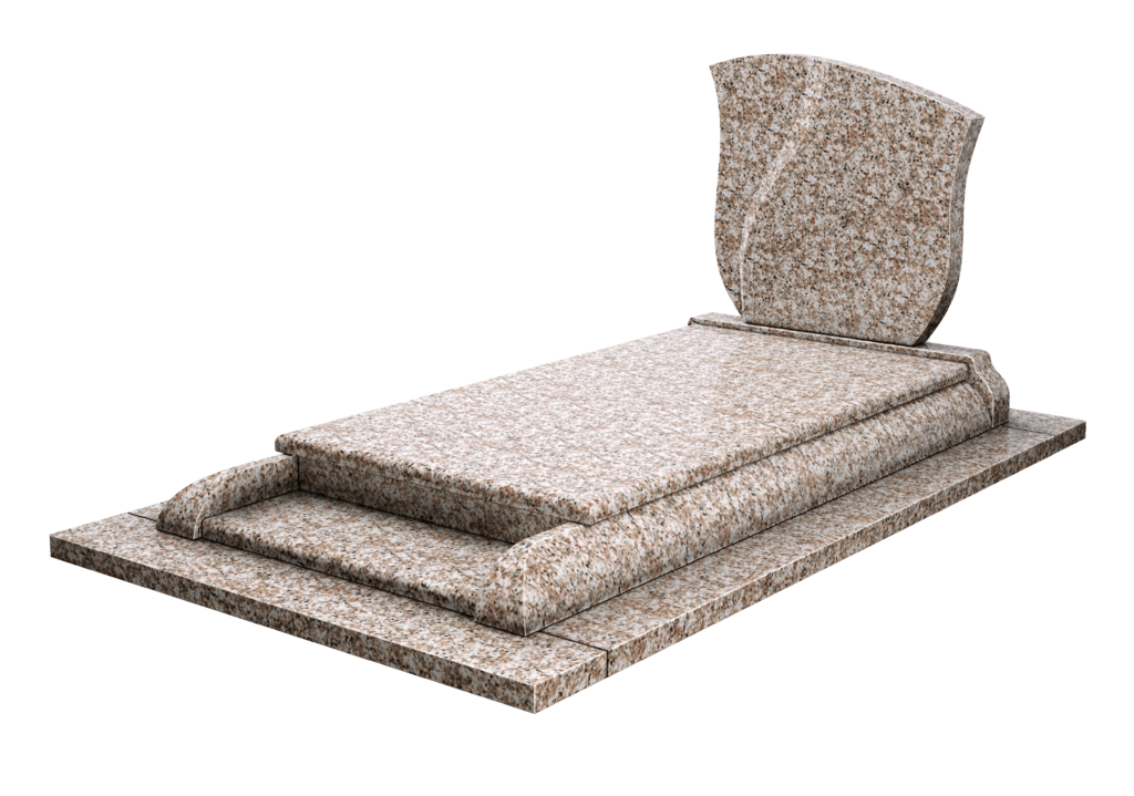 Modèle AP25 en granit Zinnia