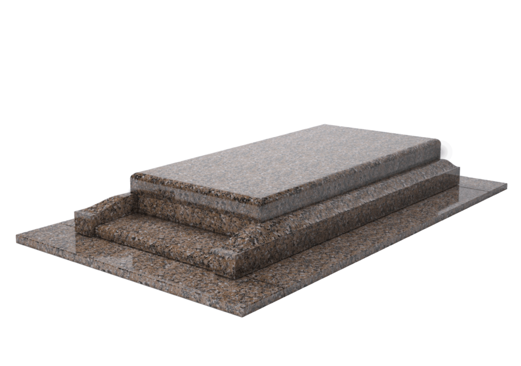 Modèle Aria en granit Bromelia