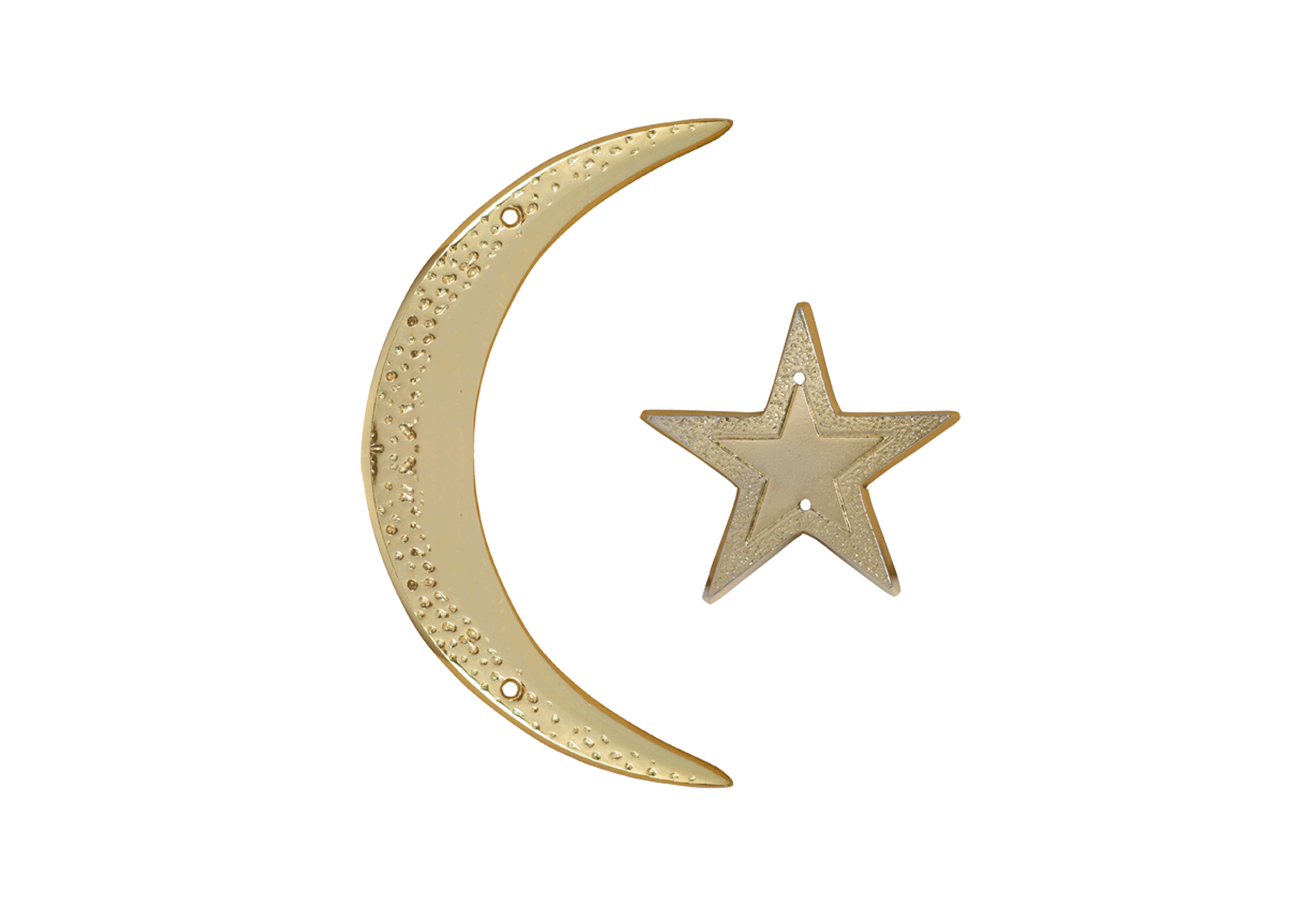 Croissant et étoile musulmans
