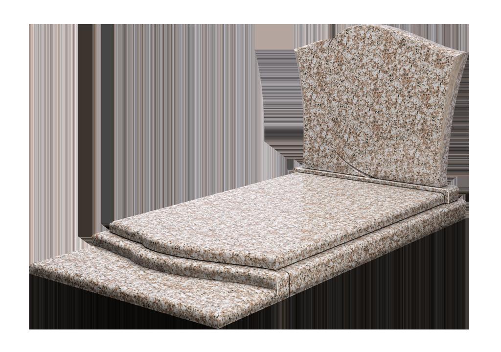 Modèle AP14 en granit Zinnia