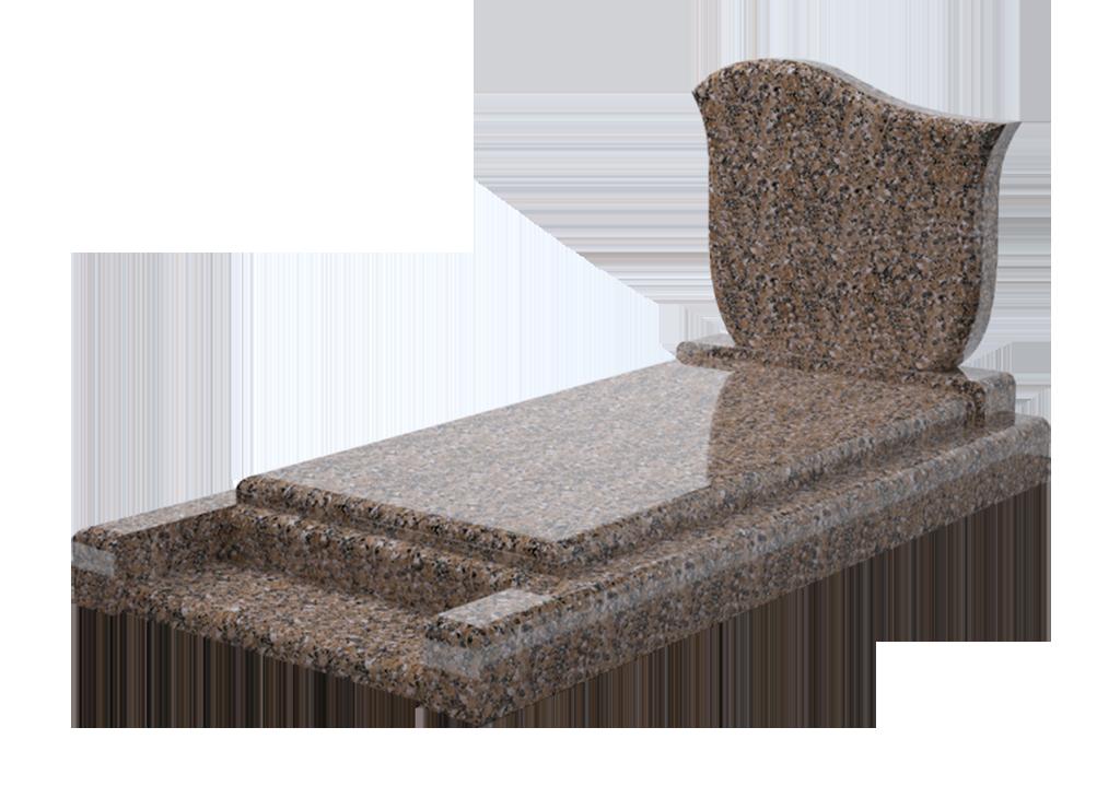 Modèle Baris en granit Bromelia