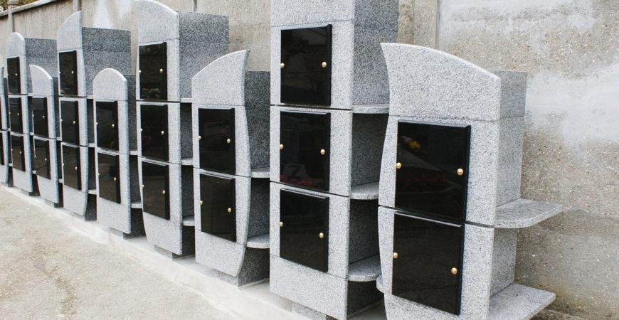 Pompes Funebres Santilly, Columbarium, Marbrerie